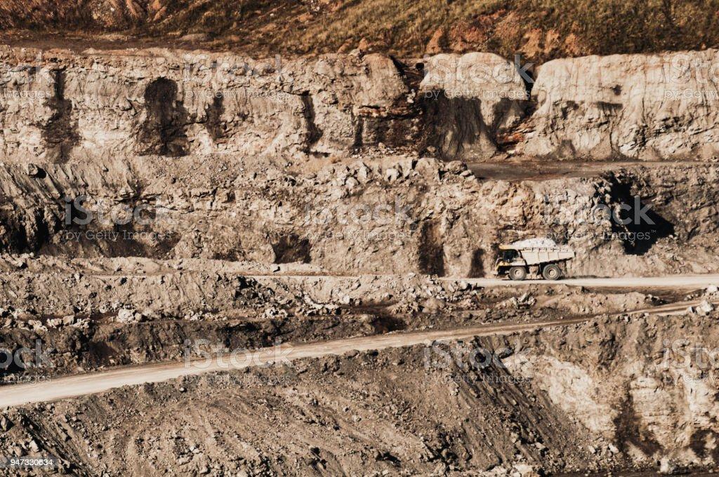 Gypsum Quarry Stock Photo - Download Image Now - iStock
