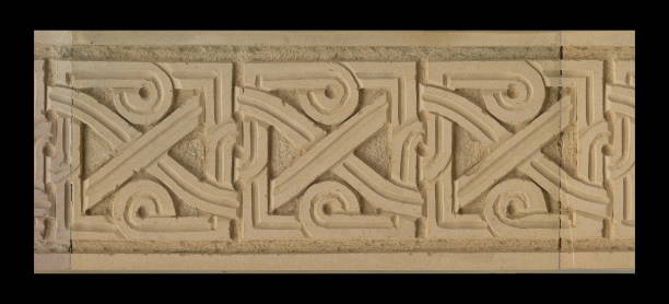 gypsum stucco, plaster ornaments and patterns, wall texture Elements of architectural decorations of buildings, gypsum stucco, plaster ornaments and patterns, wall texture. On the streets in Georgia, public places. plaster ceiling design stock pictures, royalty-free photos & images