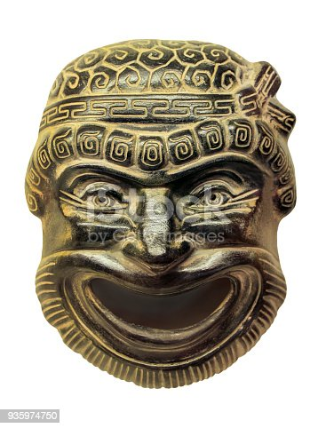 istock Gypsum theatrical mask 935974750
