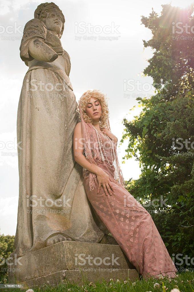 Gypsy in the Head stock photo