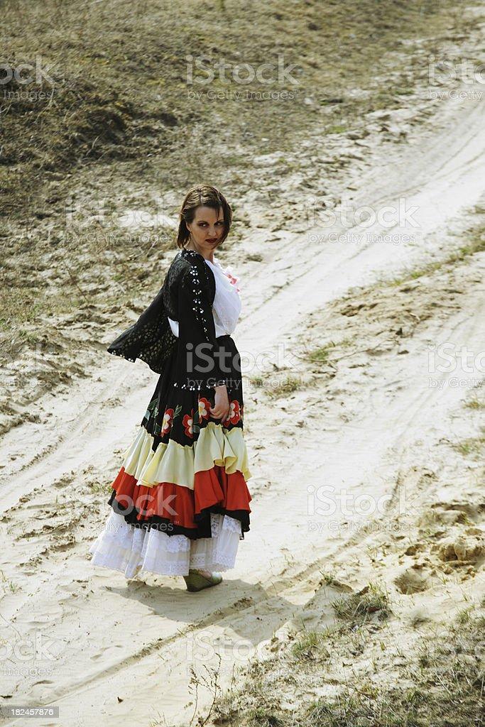 Gypsy foto royalty-free