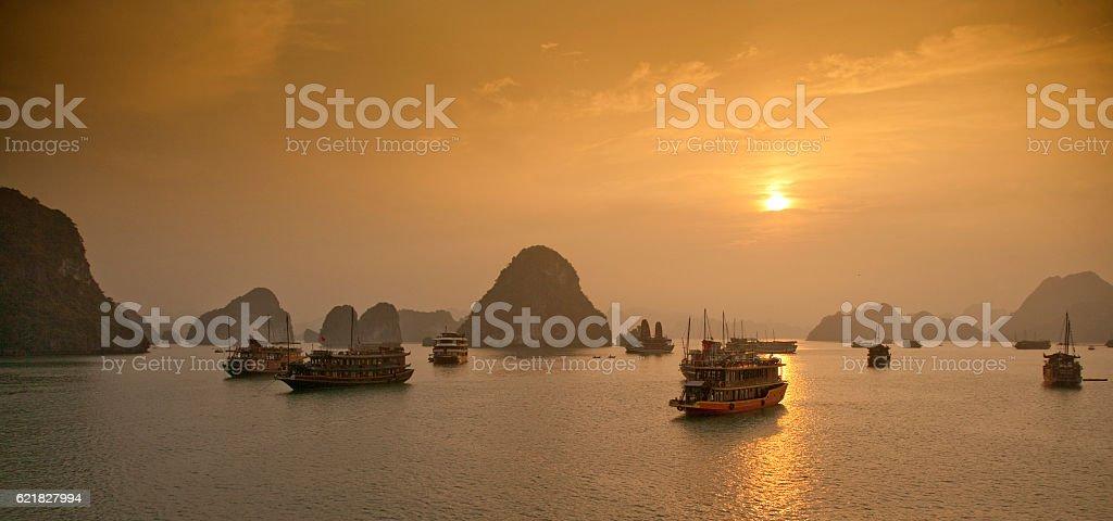 Ha mucho Bay, Vietnam - foto de stock