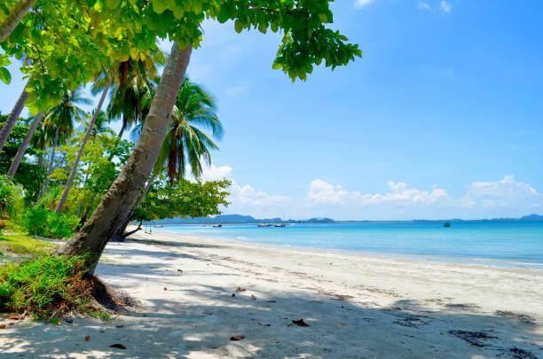 Haad Sivalai beach at Mook island stock photo