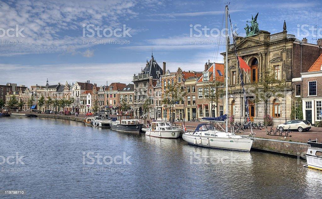 Haarlem, Holland stock photo