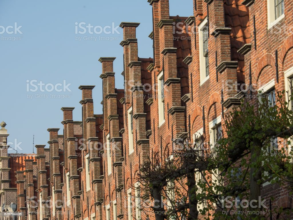 haarlem in the netherlands 免版稅 stock photo