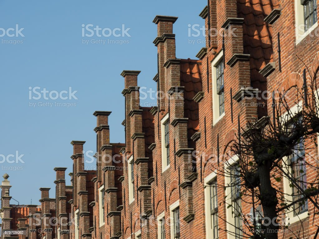haarlem in the netherlands royalty-free stock photo