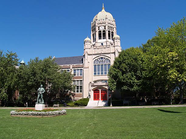 Haas Center, Muhlenberg College stock photo