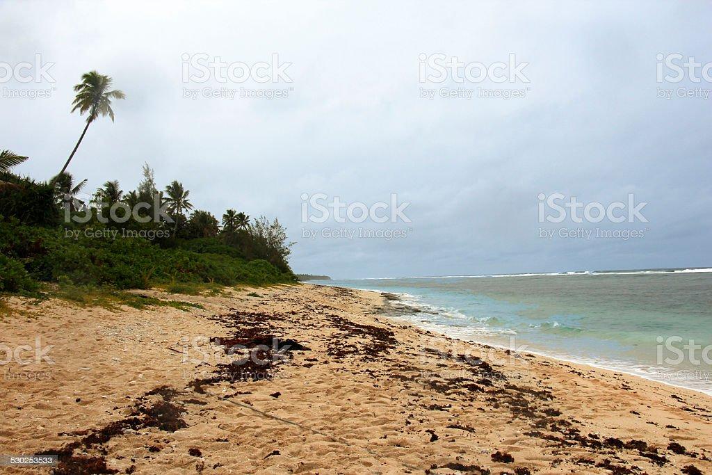 Ha'atafu beach stock photo