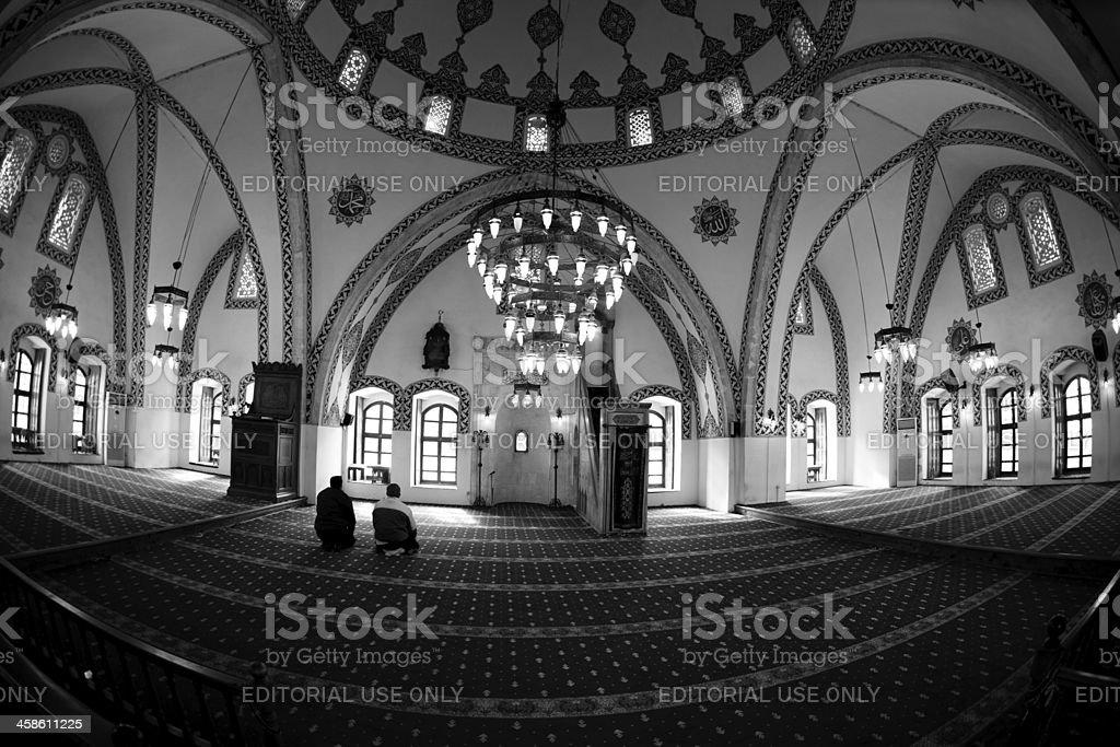 Habib-i Neccar Mosque in Antakya stock photo