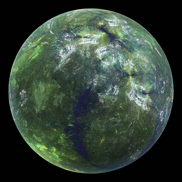 Habitable planet stock photo
