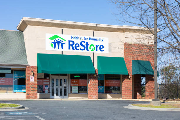 Habitat for Humanity ReStore stock photo