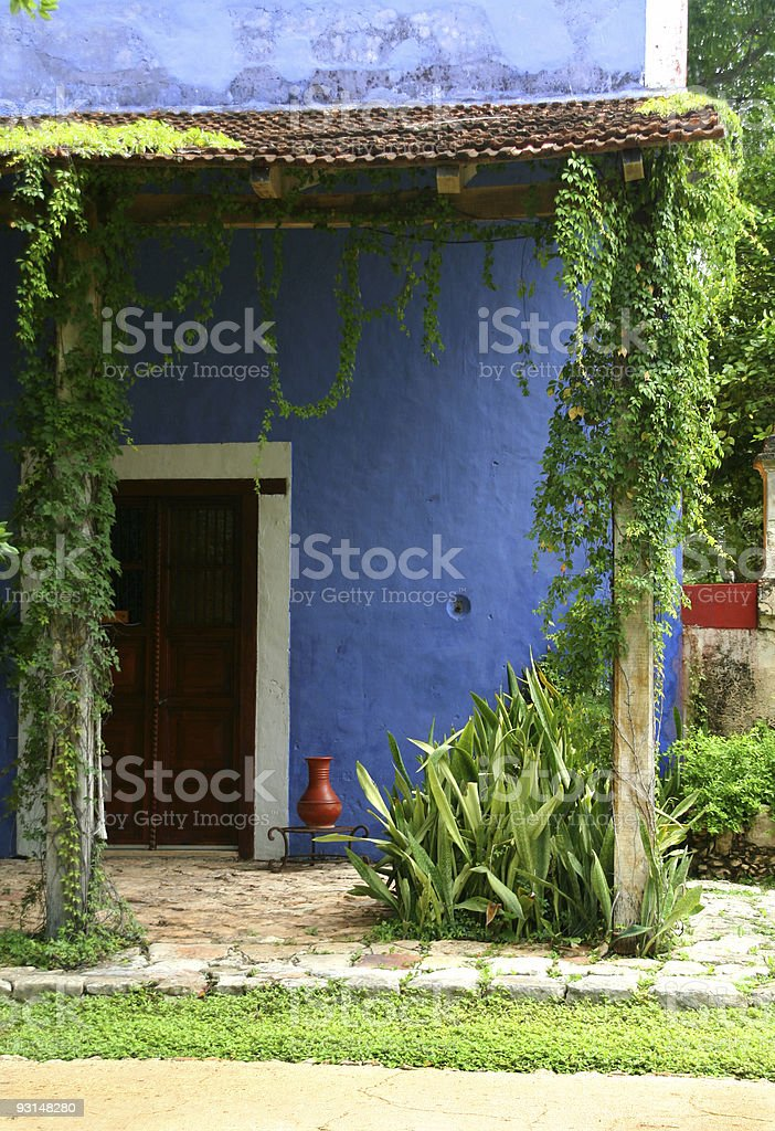 Hacienda in Mexico royalty-free stock photo