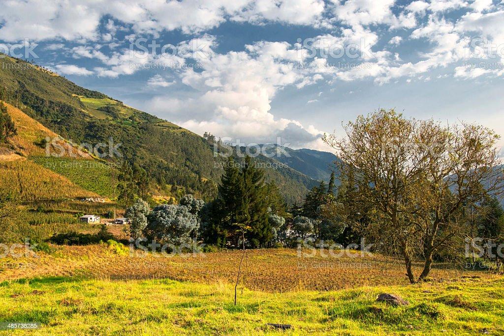 Hacienda Manteles, Ecuador stock photo