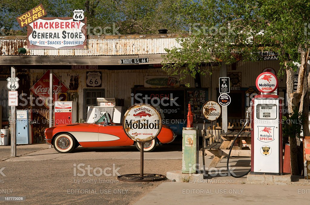 Hackberry General Store stock photo
