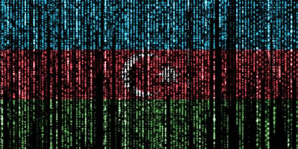 Hacked by Azerbaijan stock photo