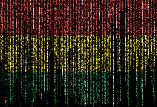 Hacked by Bolivia stock photo