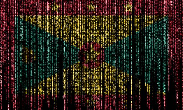 Hacked by Grenada stock photo