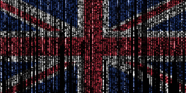 Hacked by the UK stock photo