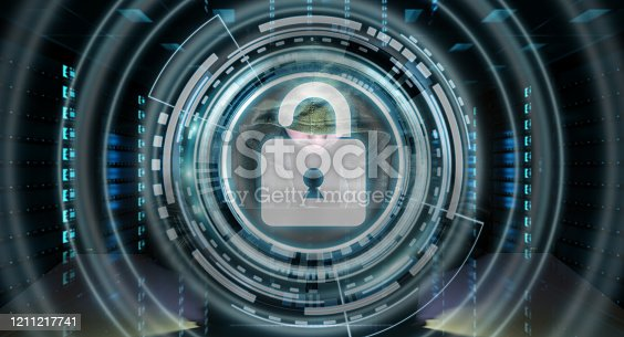 istock Hacker accessing to personal data information with a computer in a dark room 3D rendering 1211217741