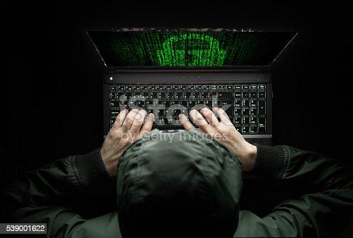 istock Hacker at work 539001622