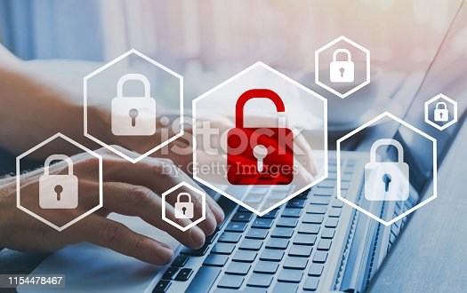 istock hacker attack and data breach, cybersecurity 1154478467