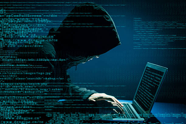 Hacker attacking internet Hacker attacking internet computer crime stock pictures, royalty-free photos & images