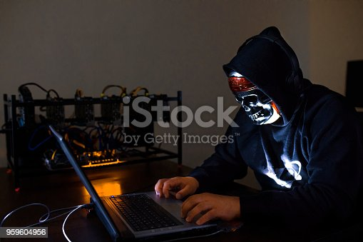 istock Hacker Breaks into Data Server 959604956