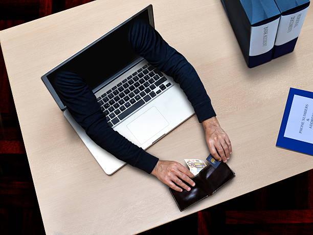 hacker security crime stock photo