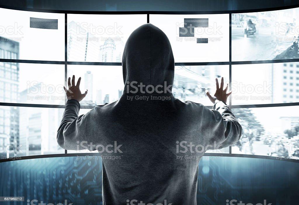 Hacker stehlen Informationen – Foto