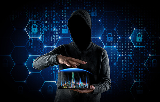 Hackers Are Manipulating City Networks Stock Photo - Download Image Now