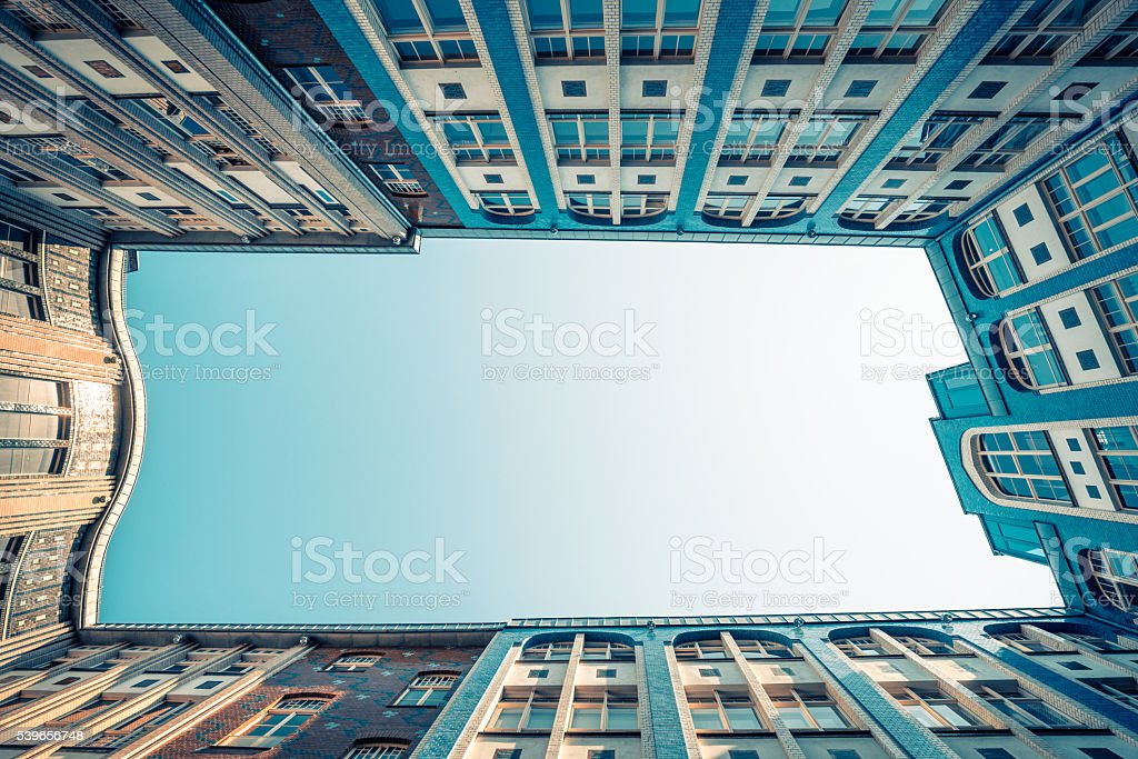 Hackesche Hoefe Berlin, Germany stock photo