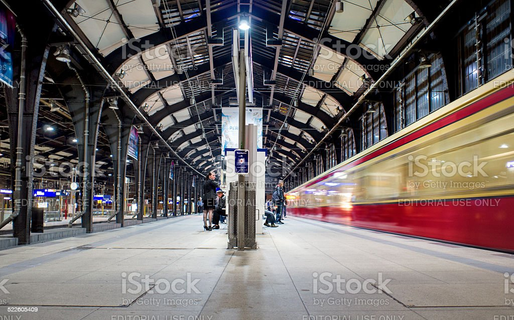 Hackescher Markt station in Berlin Germany stock photo
