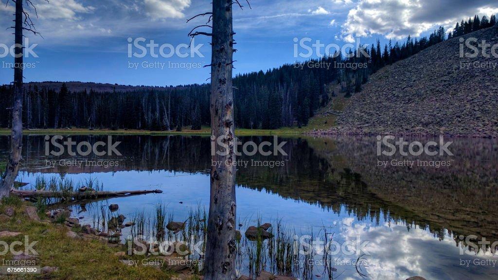 Hacking Lake royalty-free stock photo