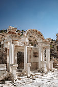 The Temple of Hadrian in Ephesus Ancient City