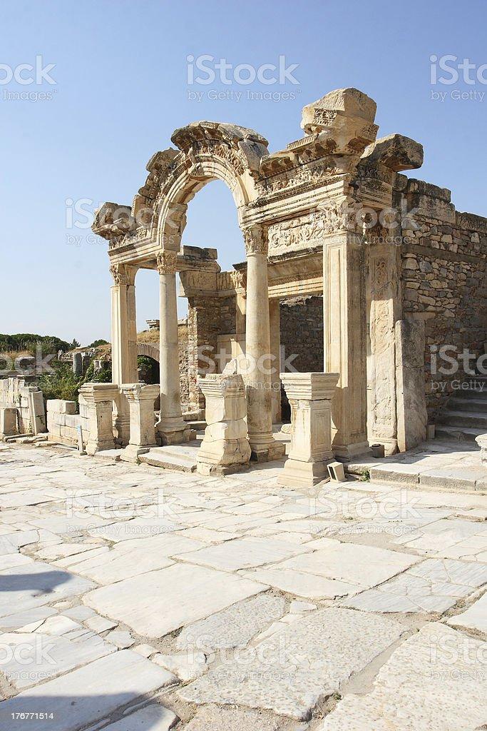 Hadrian's Arch royalty-free stock photo