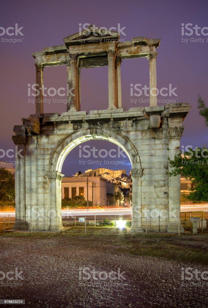 Hadrian's Gate, Athens, Greece photo libre de droits
