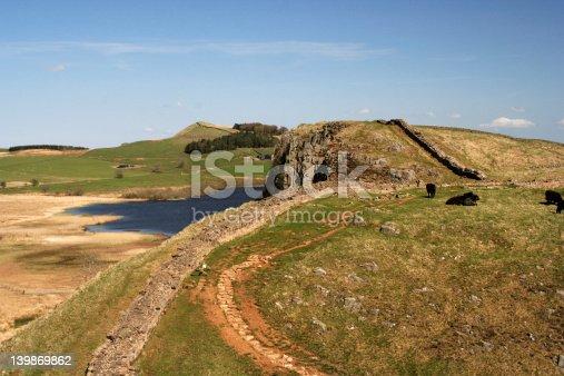 istock Hadrian's wall 139869862