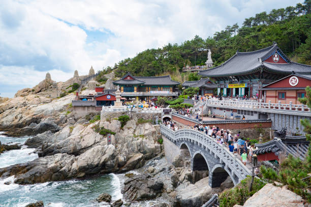 海東龍宮寺、釜山、韓国 - 釜山 ストックフォトと画像