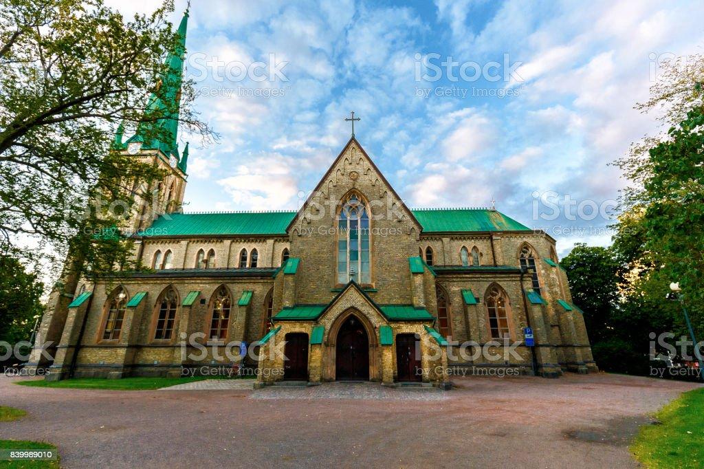 Haga kyrka stock photo