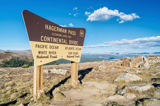 Hagerman Pass in Rocky Mountains