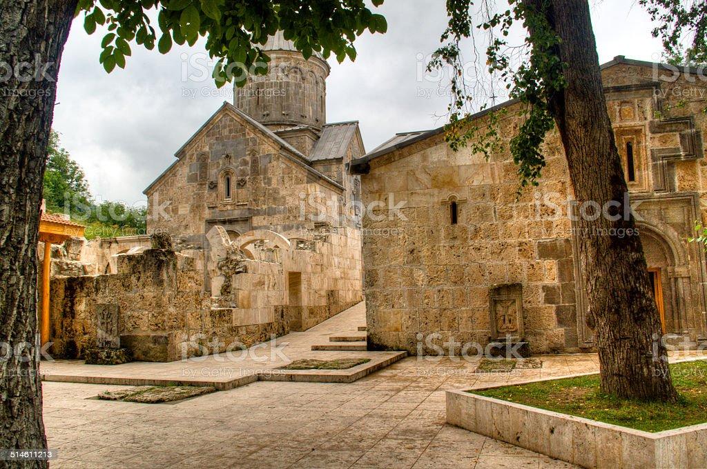 Haghartsin monastery stock photo