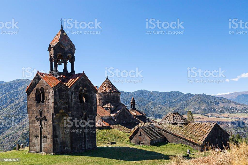 Haghpat Monastery in Armenia. stock photo