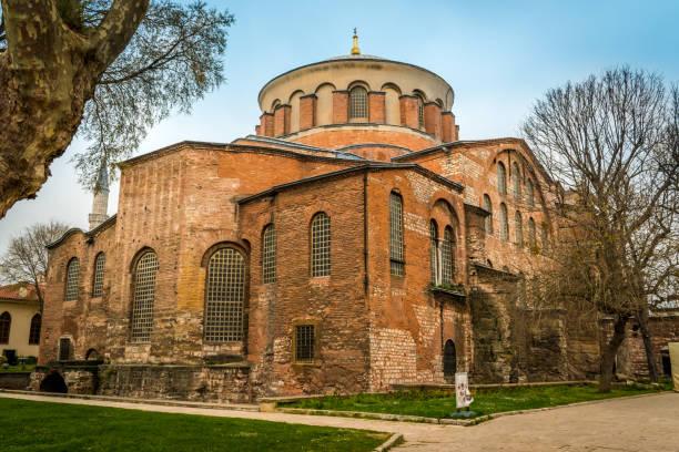 Hagia Irene Orthodox Church, Istanbul, Turkey stock photo
