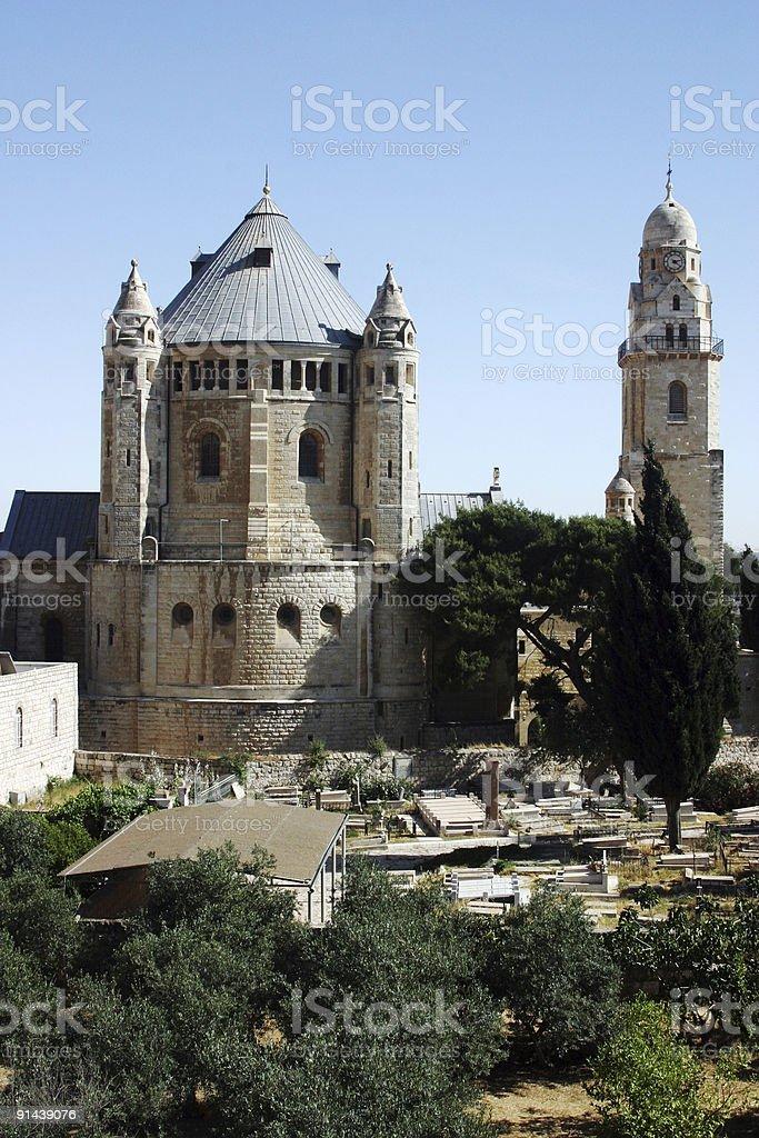 Museo de Hagia Maria Sion abadía, Jerusaelm - foto de stock
