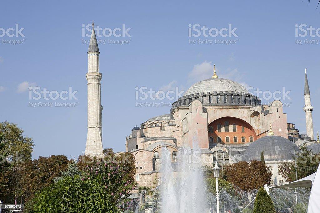 Hagia Sofia, Istanbul royalty-free stock photo