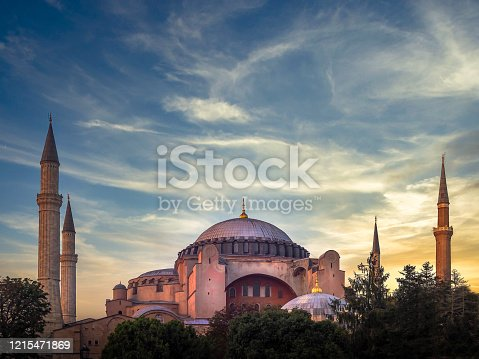 Hagia Sophia / Ayasofya. Hagia Sophia is the most famous historical building of the Istanbul. Turkey.