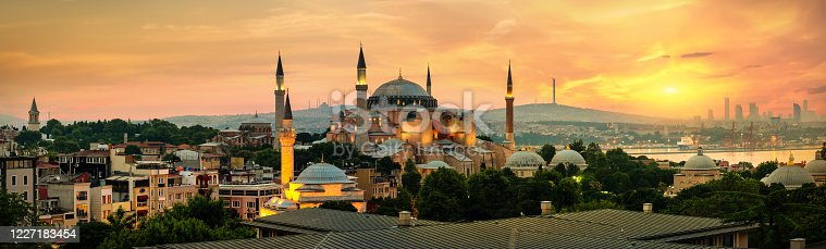 istock Hagia Sophia in Istanbul 1227183454