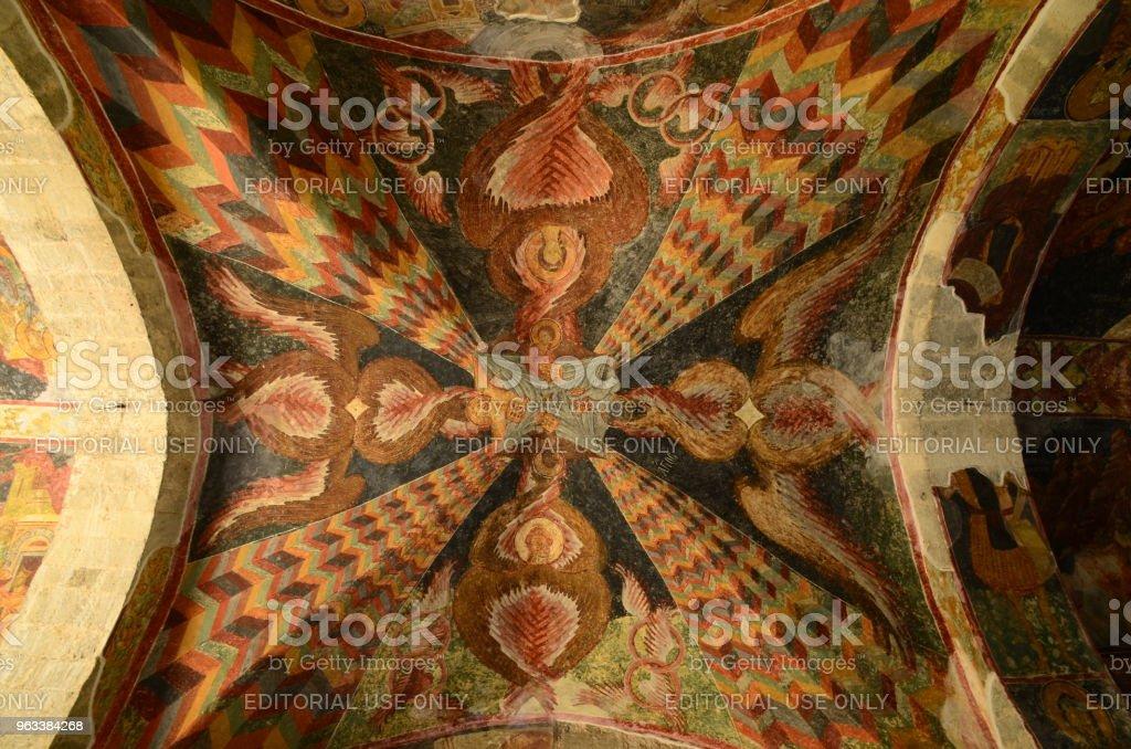 Hagia Sophia är ett museum, tidigare grekisk-ortodoxa kyrkan som var omvandlas till en moské i 1584, och beläget i Trabzon, Turkiet - Royaltyfri Arkitektur Bildbanksbilder