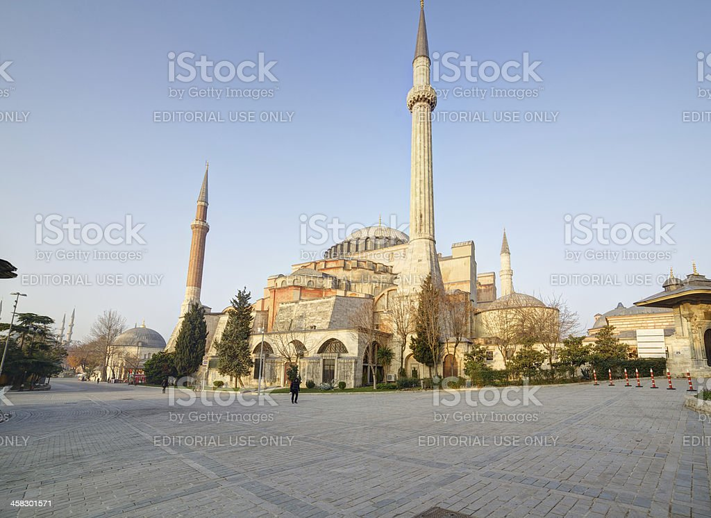Hagia Sophia. Istanbul. Turkey. royalty-free stock photo