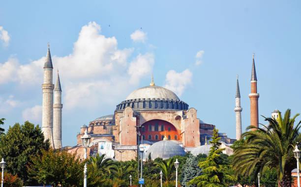 Cтоковое фото Hagia Sophia or Ayasofya Mosque